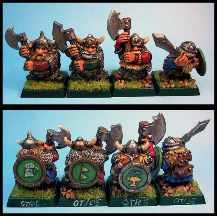 Dwarf Warriors - one is from BTD